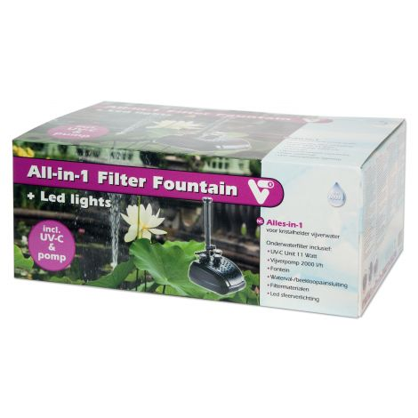 all in 1 filter fountain velda