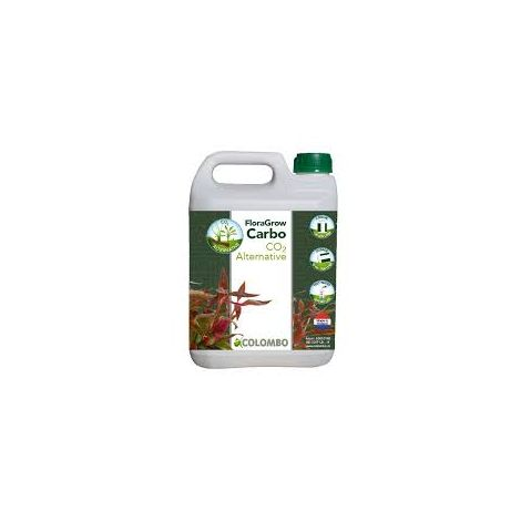 flora grow carbo 2,5 l , vloeibare co2 plantenvoeding.