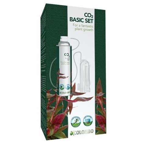Co2 basis set, Voor co2 bemesting van aquariumplanten.
