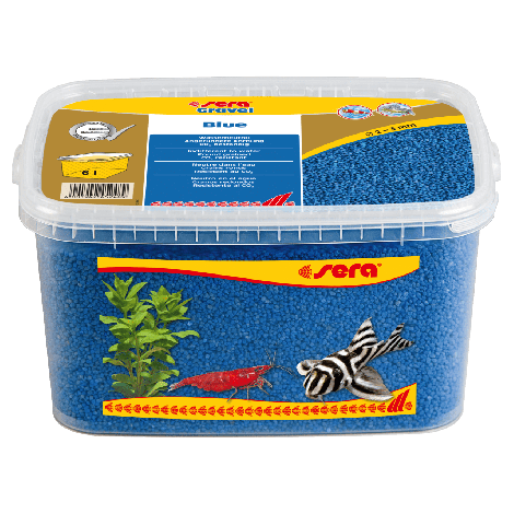 sera gravel bleu 2-3 mm 6 liter