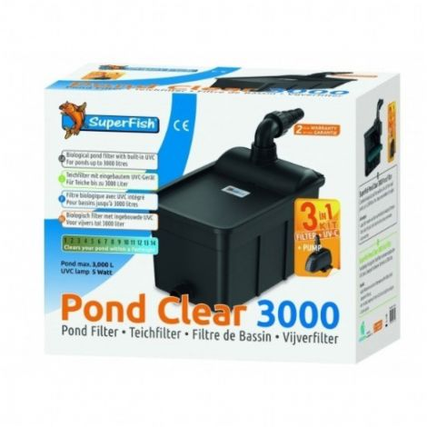 Pond Clear 3000 set