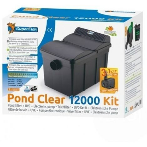 Pond Clear kit 12000