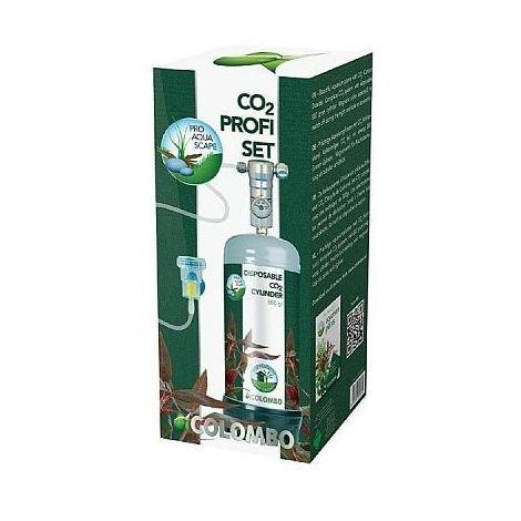 colombo profi co2 set, voor prachtige plantengroei in aquaria.