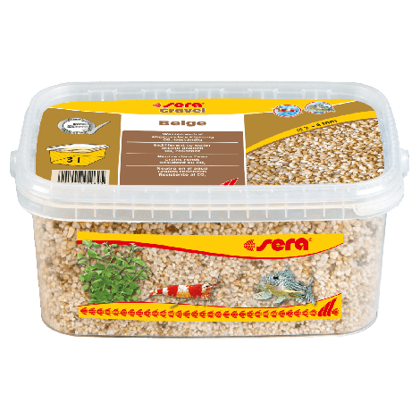 sera gravel beige 1-3 mm 3 liter
