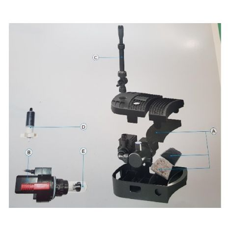 sf combi clear 2000 rotor