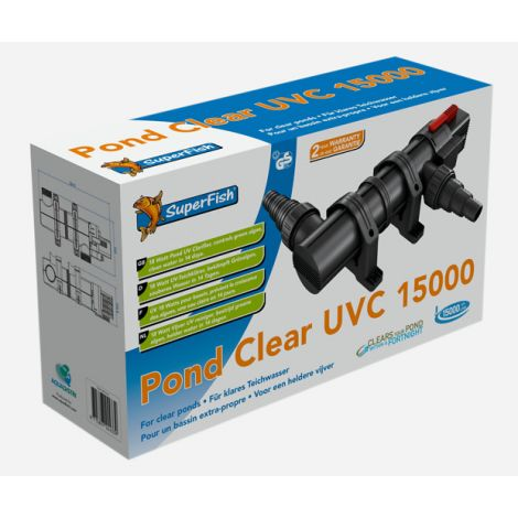 SF Pond clear uv-c 18 watt 15000