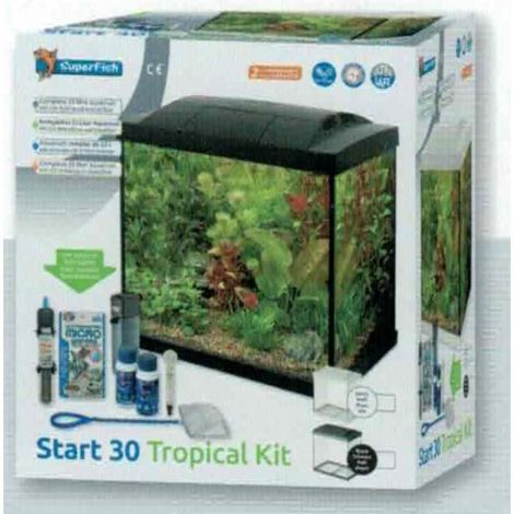 superfish start 30 tropical kit zwart