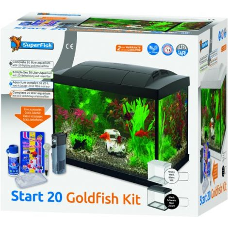 SF start 20 goldfish kit zwart